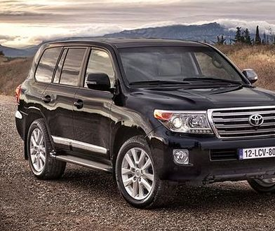 Toyota wycofuje z Europy model Land Cruiser V8