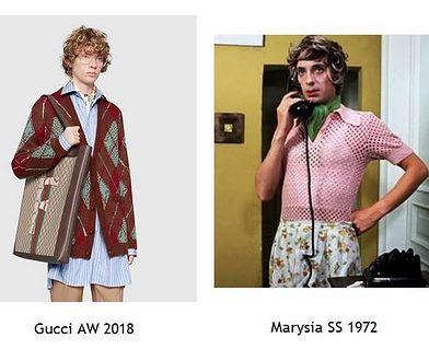 Model Gucci kontra filmowa Marysia