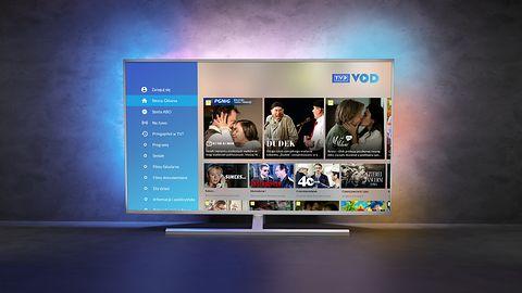 Telewizory Philips z systemem Saphi oferują już TVPVOD – nawet modele z 2017 roku