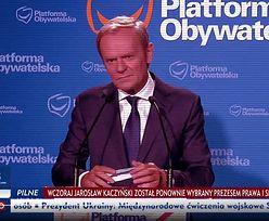 """Tak pokazali Donalda Tuska. TVP Info osiąga """"wyżyny"""" manipulacji"""