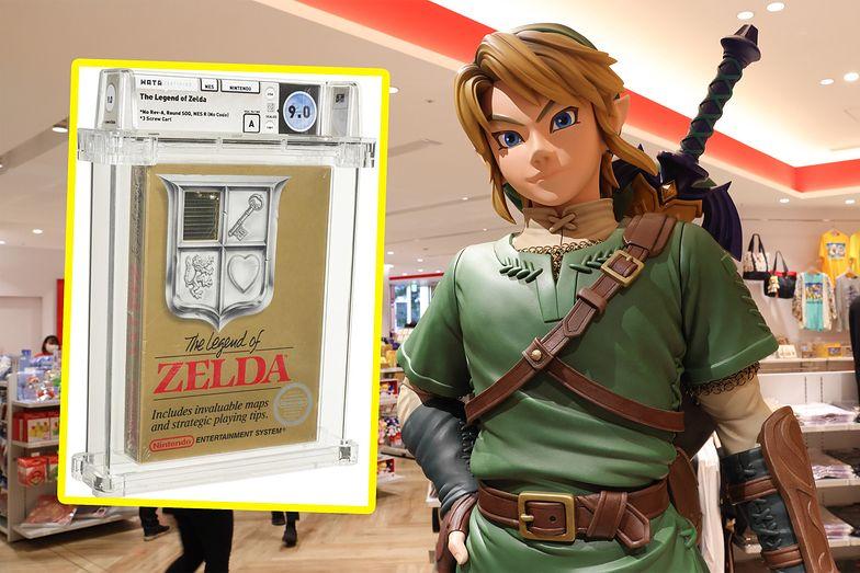 Legendarna gra z 1987 roku trafiła na aukcję. Poszła za blisko 900 tys. dolarów