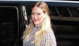 Hilary Duff opublikowała nagranie z porodu domowego w wodzie