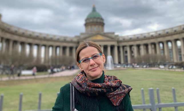 Pani Beata mieszka od 13 lat w Sankt Petersburgu