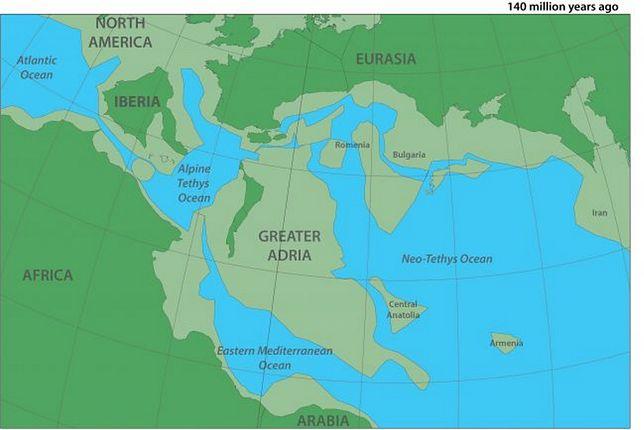 Wielka Adria zderzyła się z Europą