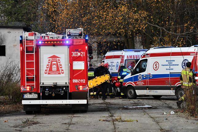 Szczecin. Nie żyją dwaj chłopcy, których wyciągnięto ze zbiornika przeciwpożarowego