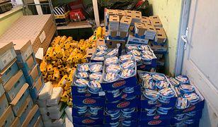 Przejście graniczne Medyka. Autobus przemycał 2 tony produktów z sieci handlowej Biedronka.