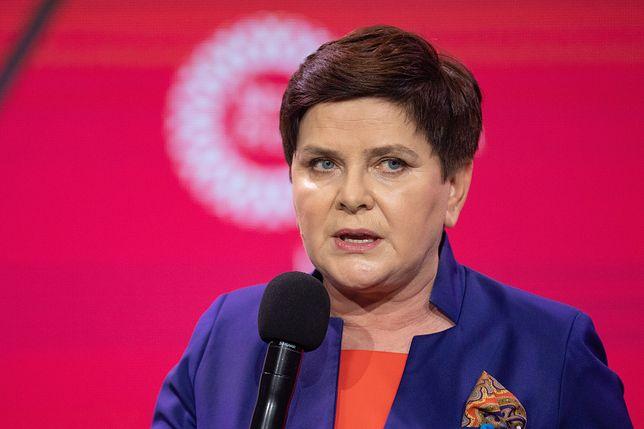 Beata Szydło skomentowała wypowiedź na konferencji prasowej