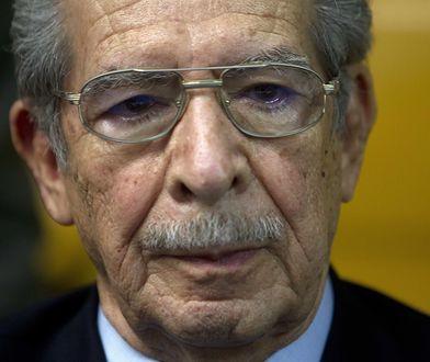 Efrain Rios Montt zmarł w wieku 91 lat
