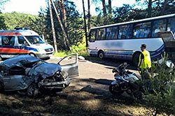 #dziejesiewmoto [357]: czołówka z powodu brawury, płonący traktor i szybkie stłuczki