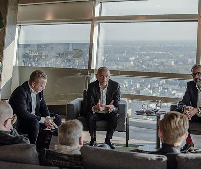 Spotkanie dziennikarzy z przedstawicielami BMW Group.