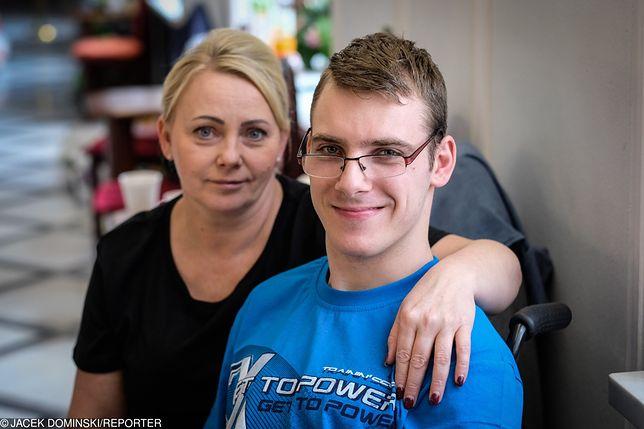 Iwona Hartwich, mama niepełnosprawnego Jakuba