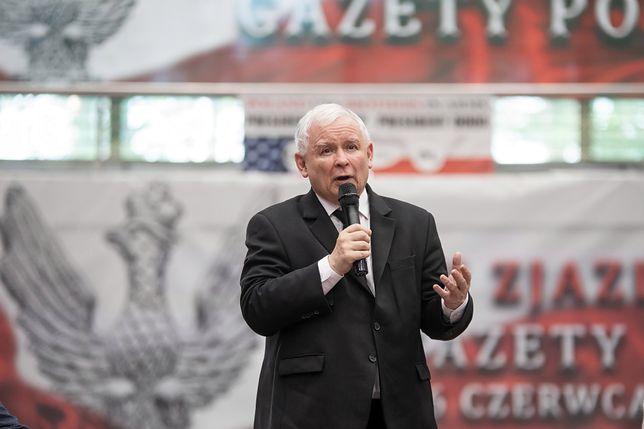 """Prezes PiS Jarosław Kaczyński gościł na zjeździe Klubów """"Gazety Polskiej"""" w Spale"""