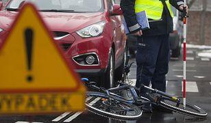 Śmiertelne potrącenie rowerzysty w Niepruszewie pod Poznaniem (zdj. ilustracyjne)