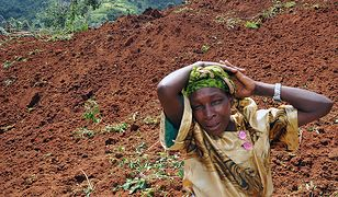 Zwały błota zalały dwie wioski. Ta kobieta straciła w osuwisku czworo dzieci