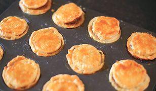 Mini babeczki z mięsnym farszem. Pyszne i proste
