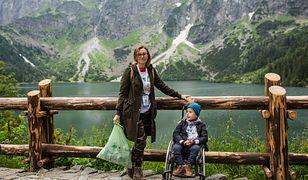 Arek wraz z rodzicami sprzątał trasę nad Morskie Oko