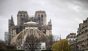 """Paryż. Odbudowa katedry Notre-Dame. """"Jest wciąż zagrożona"""""""