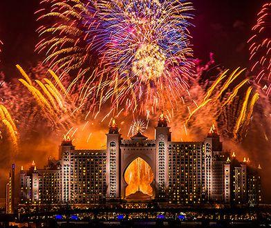 Hotel Atlantis, The Palm w Dubaju jest usytuowany na jednej z 3 sztucznych wysp w kształcie palm