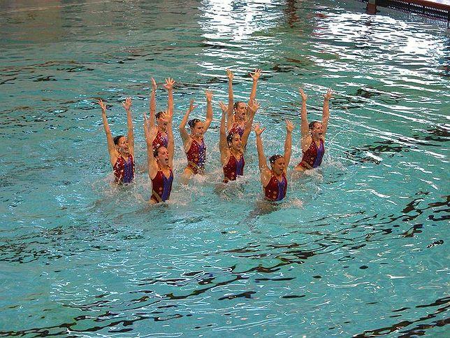 Zobacz najlepsze pływaczki synchroniczne!