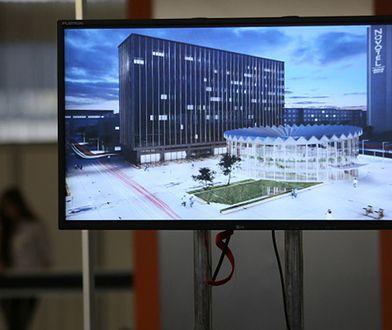 Wizualizacja zwycięskiego projektu na modernizację Rotundy