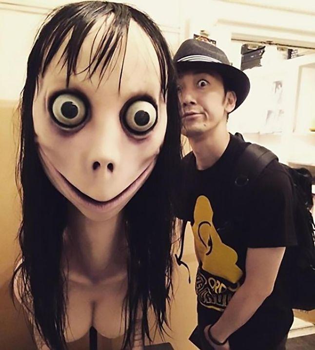 Charakterystyczne wyłupiaste oczy pierwowzoru Momo. Źródło: The Sun