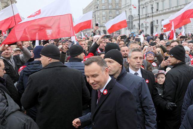 Marsz organizowany jest pod patronatem Andrzeja Dudy