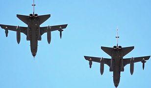 Myśliwiec wracał do bazy z Madrytu
