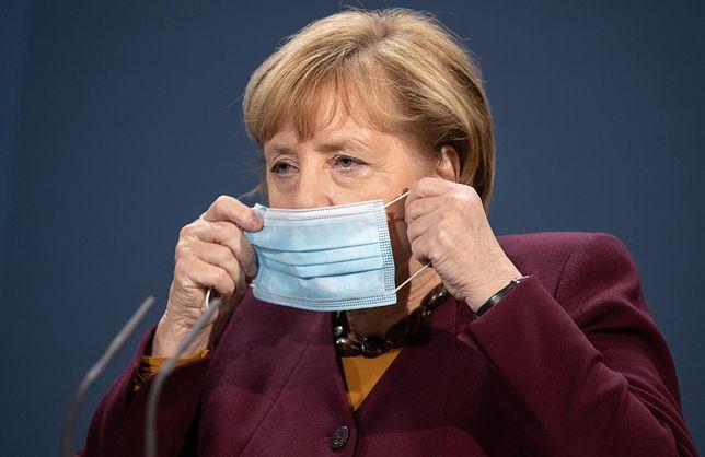 Koronawirus - Niemcy. Kanclerz Angela Merkel rozważa obostrzenia do stycznia