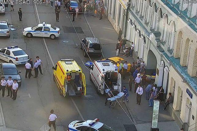 Wypadek w Rosji podczas mistrzostw świata w piłce nożnej 2018
