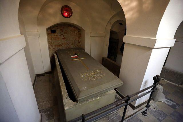 Tutaj zostanie pochowany kard. Józef Glemp - zdjęcia