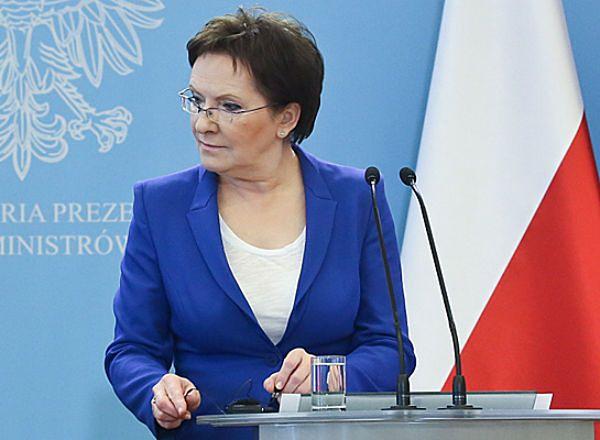 Premier Ewa Kopacz będzie dziś w Kielcach