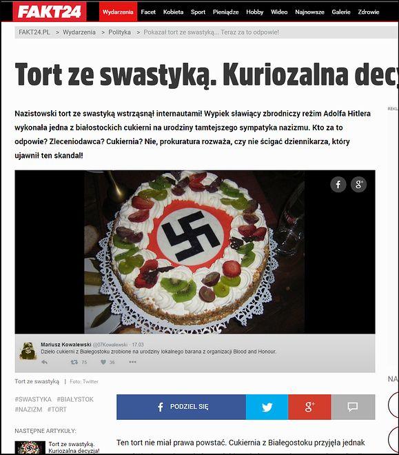 """Opublikowane przez """"Wprost"""" dowody ze śledztwa dot. neonazistów z  Białegostoku odbiły się szerokim echem w mediach"""