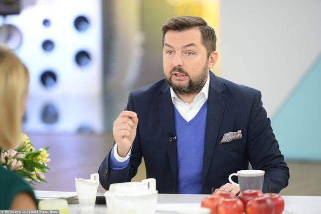 """Paweł Blajer w programie """"Dzień dobry TVN""""."""
