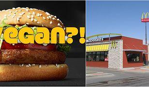 McDonald chce na stałe wprowadzić do swojego menu wegańskiego hamburgera.