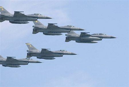 Poważne uszkodzenia polskich F-16