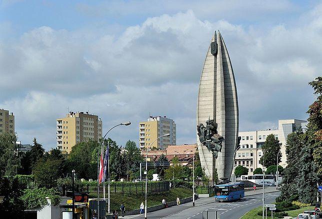 Najbardziej charakterystyczny obiekt w Rzeszowie - pomnik Czynu Rewolucyjnego