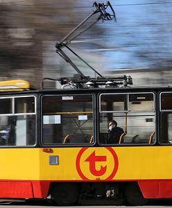 Warszawa. Tramwaj potrącił rowerzystkę. Utrudnienia w ruchu