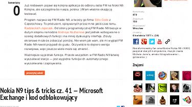 Firefox oficjalnie dla Nokii N9