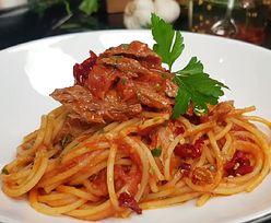 Prosty przepis na szybki obiad. Klasyczne włoskie spaghetti al tonno