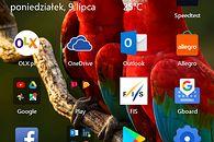5 produktów Microsoftu, których używam jako student - Główny ekran Microsoft Launcher
