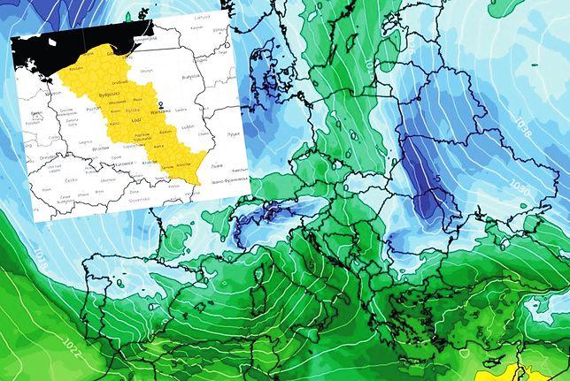Pogoda. Alerty IMGW dla 9 regionów