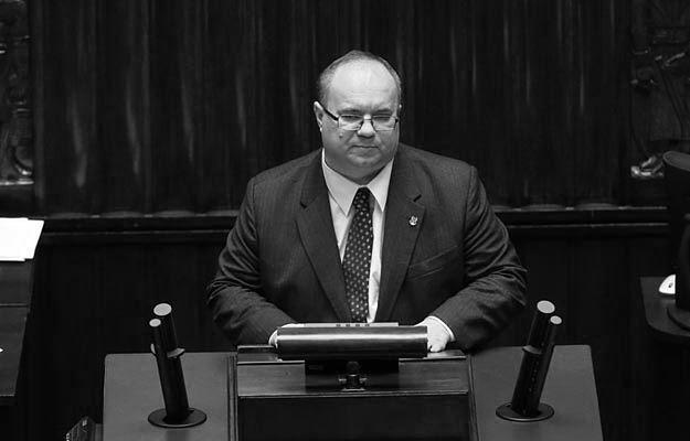 Posel Rafal Wojcikowski podczas 11 posiedzenia Sejmu VIII kadencji