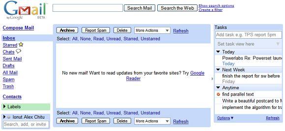 Gmail w 2007