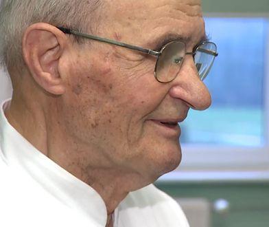 Profesor Eugeniusz Murawski ma 91 lat