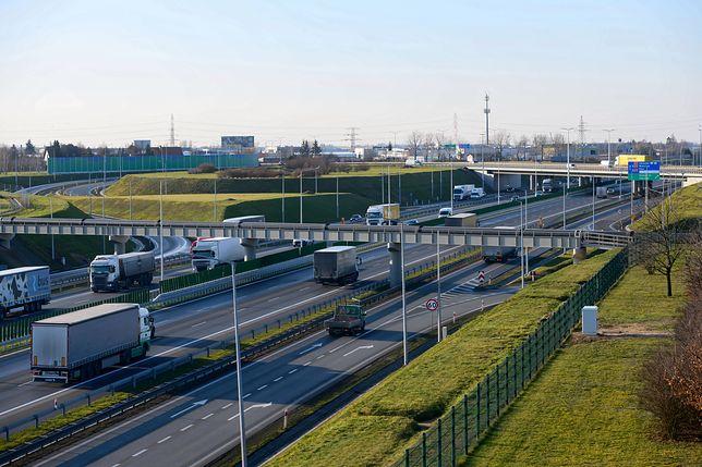 Pożar na autostradzie A2. Utrudnienia (zdjęcie ilustracyjne)