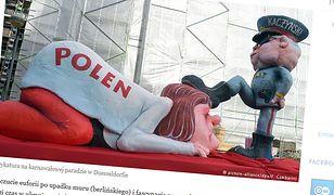 Deutsche Welle opisując tezy von Marschalla, przypomina karykaturę Kaczyńskiego z parady karnawałowej w Duesseldorfie