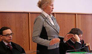 Krystyna Kornicka-Ziobro w styczniu w sądzie