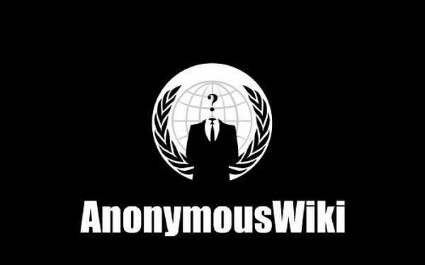 Logo grupy Anonymous
