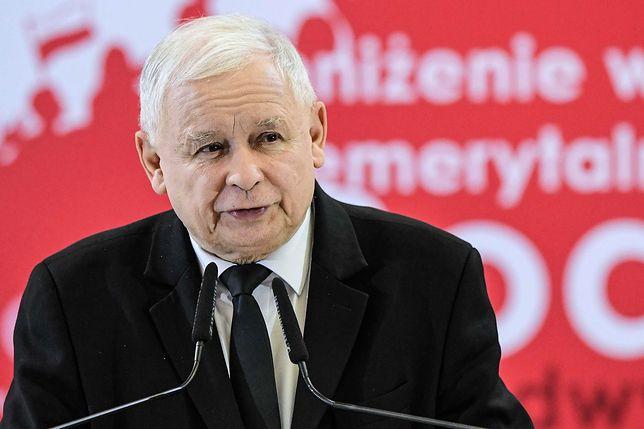 Wybory parlamentarne 2019. Jarosław Kaczyński odniósł się do kwestii 500+