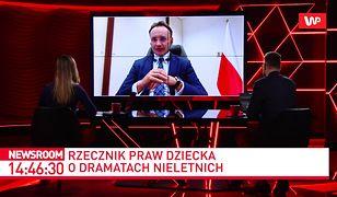 Mikołaj Pawlak, Rzecznik Praw Dziecka: Mamy do czynienia z pandemią zła